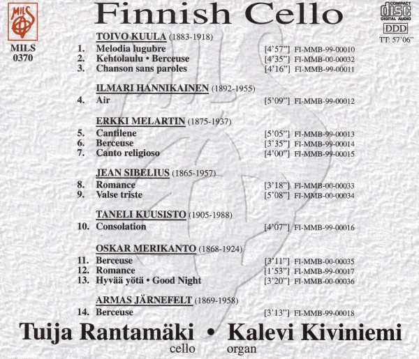 Finnish Cello