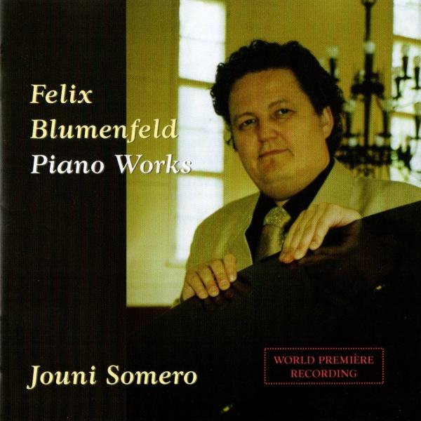 Felix Blumenfeld Piano Works