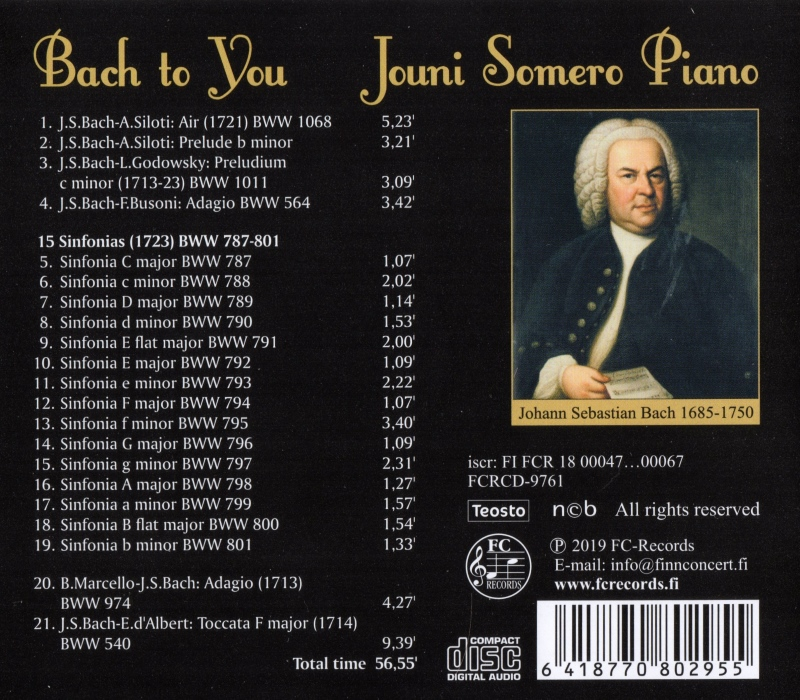 Bach to You