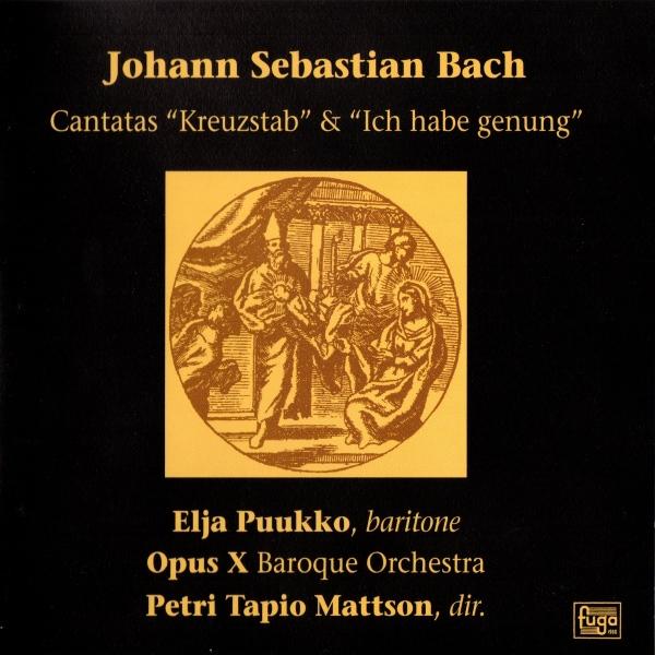 Bachin soolokantaatit bassoäänelle