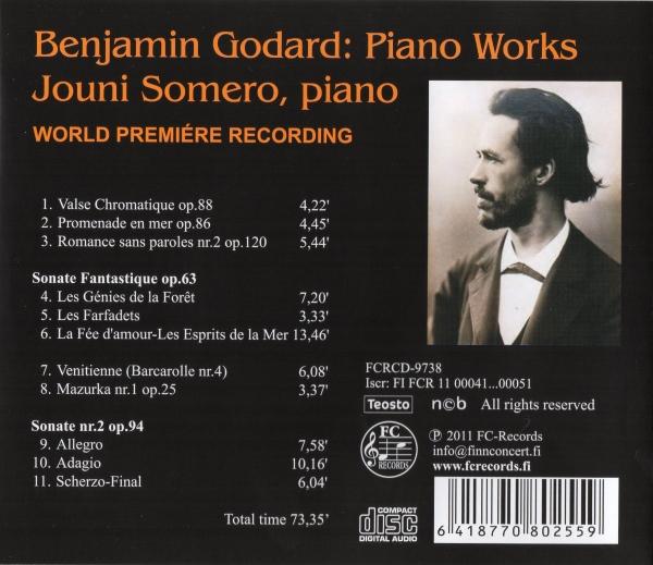 Benjamin Godard - Piano Works