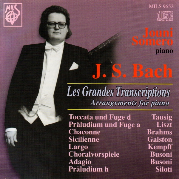 J.S. Bach - Arragements for piano