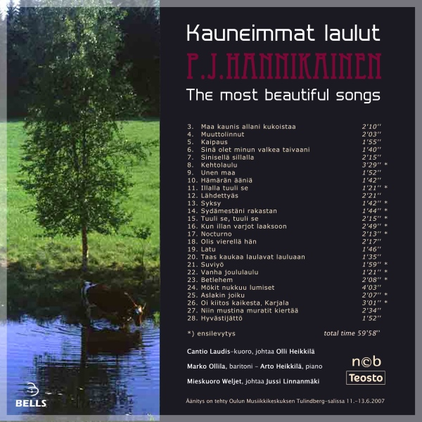 PJ Hannikainen - Kauneimmat laulut